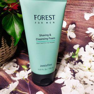 Innisfree forest shaving and cleansing foam for man 2