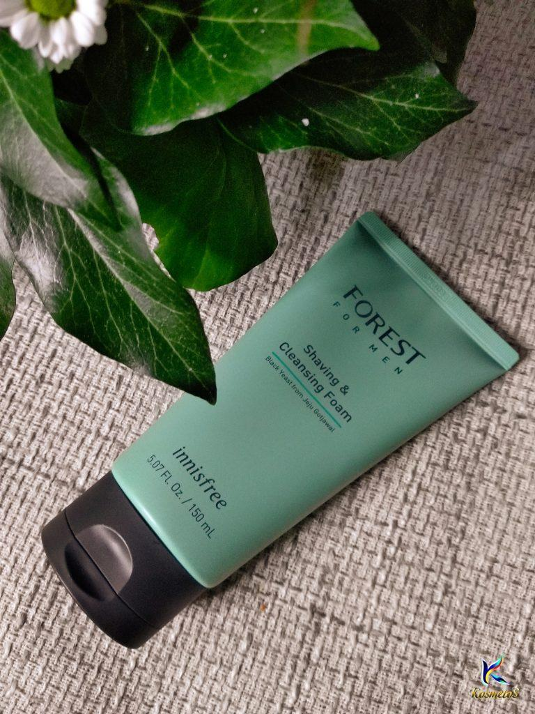 Innisfree forest shaving and cleansing foam for man 4