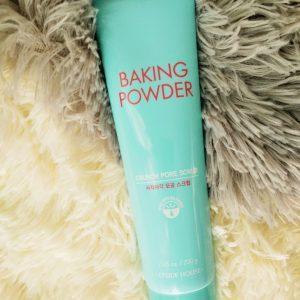 Peeling do twarzy Etude House Baking Powder Crunch Pore Scrub 5
