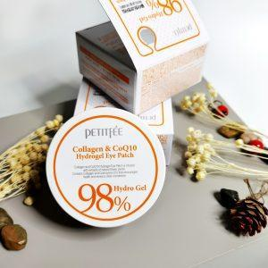Platki Petitfee Collagen & Q10 Hydrogel Eye Patch 60szt 1