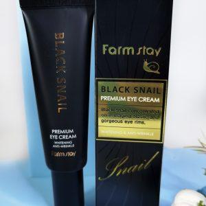 FarmStay Black Snail Premium Eye Cream 50ml 1