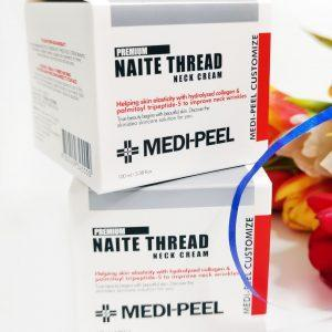 Peptydowy krem na szyję i dekolt Medi Peel Naite Thread Neck Cream 11