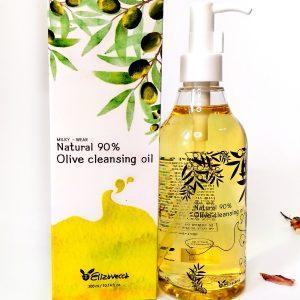 Olej hydrofilowy o zawartości 90% naturalnego oleju z oliwek Elizavecca Natural 90% Olive Cleansing Oil 11