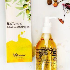 Olej hydrofilowy o zawartości 90% naturalnego oleju z oliwek Elizavecca Natural 90% Olive Cleansing Oil 22