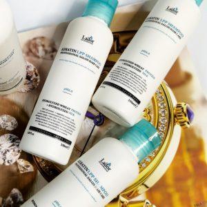 Bezsiarczanowy profesjonalny szampon do włosów z keratyną La'dor Keratin LPP Shampoo 1