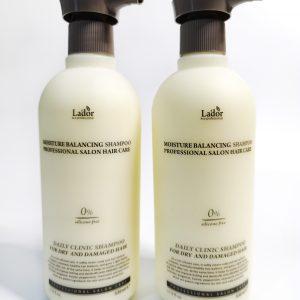 Bezsilikonowy Szampon nawilżający La'dor Moisture Balancing Shampoo 1