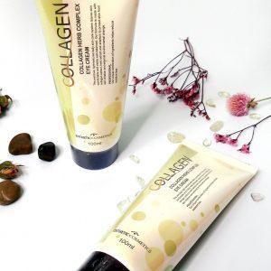 Krem pod oczy z kolagenem i ekstraktami roślinnymi Esthetic House Collagen Herb Complex Eye Cream 5