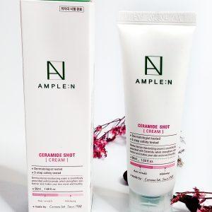 Krem z ceramidami odbudowujący barierę lipidową skóry AmpleN Ceramide Shot Cream 1
