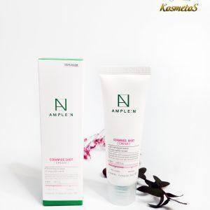 Krem z ceramidami odbudowujący barierę lipidową skóry AmpleN Ceramide Shot Cream 4