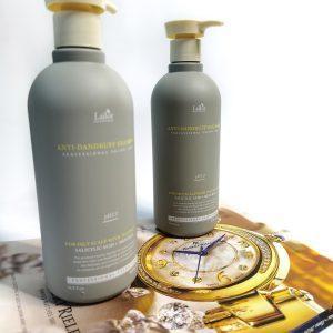 Lekko kwasowy szampon przeciwłupieżowy do wrażliwej skóry głowy La'dor Anti Dandruff Shampoo 2