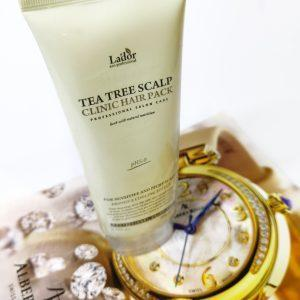 Maseczka peelingująca do skóry głowy z drzewem herbacianym Lador Tea Tree Scalp Hair Pack 1