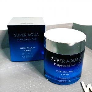 Nawilżający krem do twarzy MISSHA Super Aqua Ultra Hyalron Cream 2