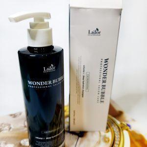 Nawilżający szampon do włosów La'dor Wonder Bubble Shampoo 1