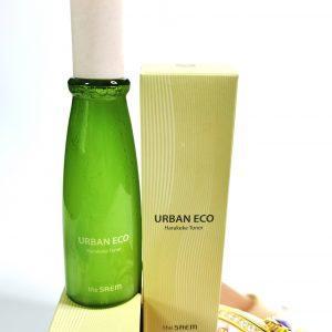 Odżywczy tonik do twarzy z ekstraktem z lnu nowozelandzkiego The Saem Urban Eco Harakeke Toner 1