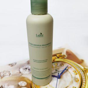 Szampon z henną przeciw wypadaniu włosów La'dor Pure Henna Shampoo 2