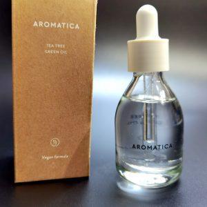 Olej z ekstraktem drzewa herbacianego Aromatica Tea Tree Green Oil 1