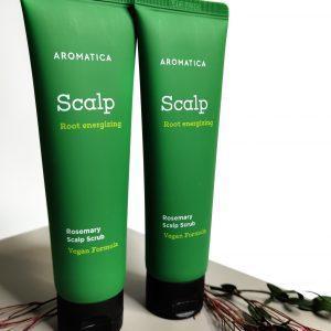Peeling do skóry głowy z rozmarynem AROMATICA Rosemary Scalp Scrub 1