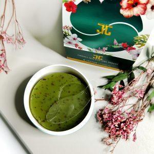 Plastry hydrożelowe z płatkami zielonej herbaty Jayjun Cosmetic Green Tea Eye Gel Patch 4