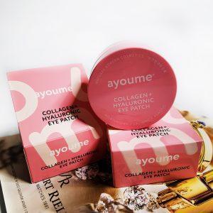 Platki hydrożelowe z kolagenem i kwasem hialuronowym Ayoume Collagen + Hyaluronic Eye Patch 2