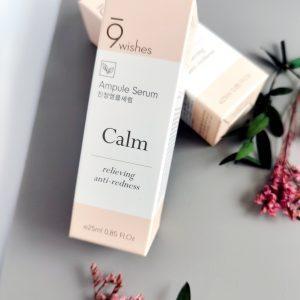 Serum przeciw trądzikowi różowatemu 9 Wishes Calm Ampule Serum 1