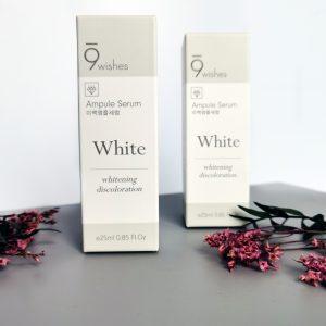 Serum wybielające przeciw pigmentacji 9WISHES MIRACLE WHITE AMPULE SERUM 1