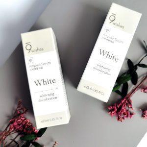 Serum wybielające przeciw pigmentacji 9WISHES MIRACLE WHITE AMPULE SERUM 2