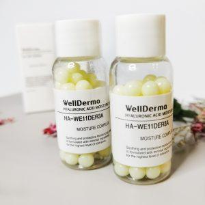 Krem kapsułkowany z kwasem hialuronowym WellDerma Hyaluronic Acid Moisture Cream 1