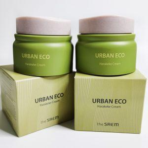 Krem odżywczy z ekstraktem z lnu nowozelandzkiego The Saem Urban Eco Harakeke Cream 1