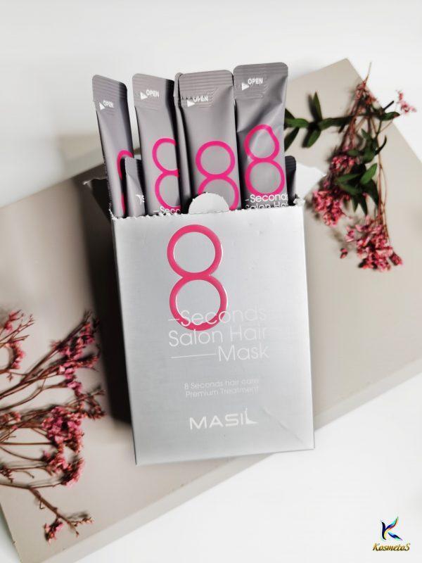 Maska do szybkiej odbudowy włosów MASIL 8 Seconds Salon Hair Mask 1