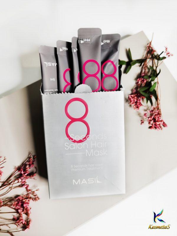 Maska do szybkiej odbudowy włosów MASIL 8 Seconds Salon Hair Mask 2
