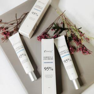 Nawilżający krem pod oczy z kwasem hialuronowym i niacynamidem Esthetic House Formula Eye Cream Hyaluronic Acid 95% 3