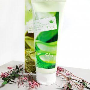 Peeling do twarzy z ekstraktem z aloesu Aspasia Natural clean peeling gel aloe 2