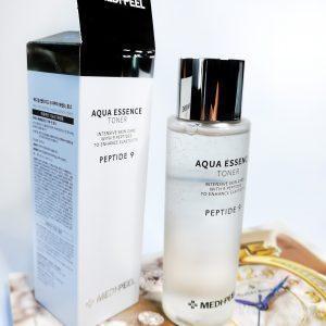 Peptydowa esencja tonerowa do skóry dojrzałej Medi-Peel Aqua Essence Toner 2
