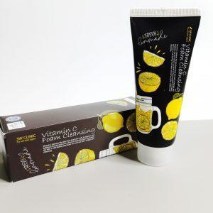 Pianka do mycia z witaminą С 3W CLINIC Vitamin C Foam Cleansing 1