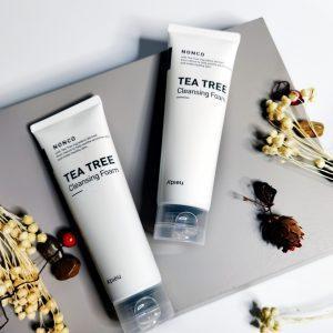 Pianka oczyszczająca z drzewa herbacianego do skóry problematycznej i tłustej A'Pieu Nonco Tea Tree Cleansing Foam 1