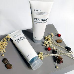 Pianka oczyszczająca z drzewa herbacianego do skóry problematycznej i tłustej A'Pieu Nonco Tea Tree Cleansing Foam 3