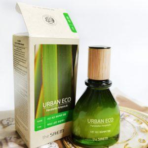 Serum do twarzy z ekstraktem z lnu nowozelandzkiego The Saem Urban Eco Harakeke Ampoule 1
