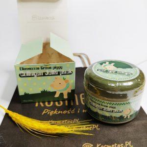Skoncentrowana kolagenowa maseczka do twarzy Elizavecca Green Piggy Collagen Jella Pack 2
