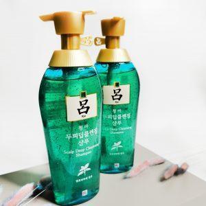 Szampon leczniczy do tłustej skóry głowy Ryo Scalp Deep Cleansing Shampoo 1