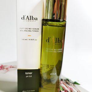 Tonik peptydowy równoważący z ekstraktem z białej trufli d ' Alba Peptide no sebum Balancing Toner 2