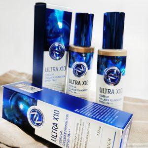 Ultra nawilżający podkład Enough Ultra X10 Cover Up Collagen Foundation SPF50 + PA +++ 4