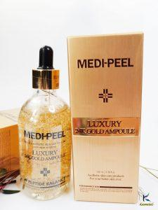 Ampułka ze złotem 24K dla elastyczności skóry Medi-Peel Luxury 24K Gold Ampoule 3