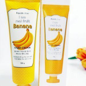Farm Stay I Am Real Fruit Banana Hand Cream 3