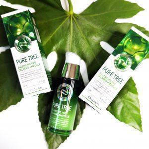 Kojące serum z ekstraktem z drzewa herbacianego ENOUGH Pure Tree Balancing Pro Calming Ampoule 3