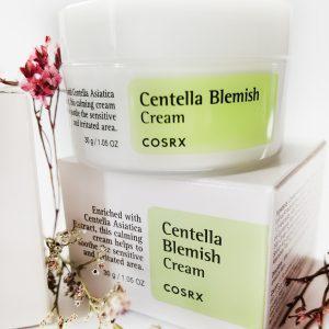 Krem Centella przeciw trądzikowi i trądzikowi różowatemu COSRX Centella Blemish Cream 1