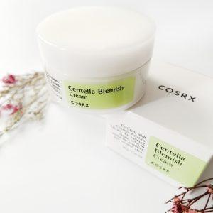 Krem Centella przeciw trądzikowi i trądzikowi różowatemu COSRX Centella Blemish Cream 2