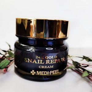 Krem Premium ze złotem i mąką ślimakową Medi-Peel 24K Gold Snail Cream 2