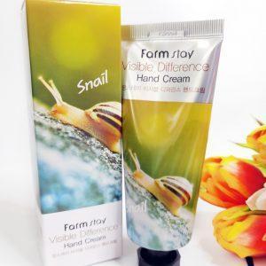 Krem do rąk FarmStay Visible Difference Hand Cream Snail 1