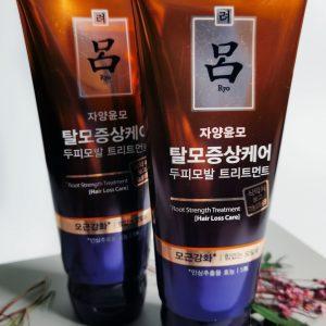 Maska lecznicza przeciw wypadaniu włosów Ryo Root Strength Treatment Hair Loss Care 1