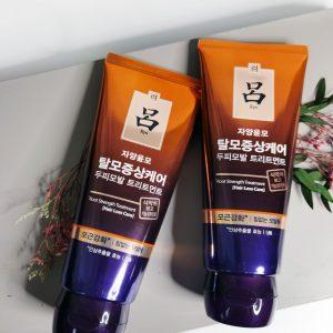 Maska lecznicza przeciw wypadaniu włosów Ryo Root Strength Treatment Hair Loss Care 2